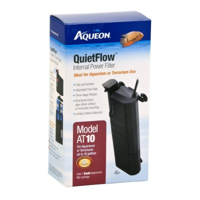 Aqueon quietflow internal filter at10 best aquarium filters for Quiet fish tank filter