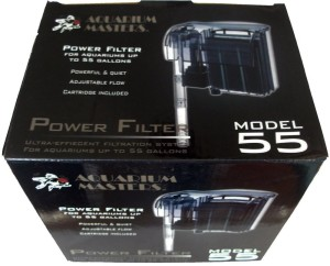 Up To 55 Gallon Tank Power Filter - Model 55 For Fresh Water Aquarium
